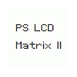 PS LCD Matrix II