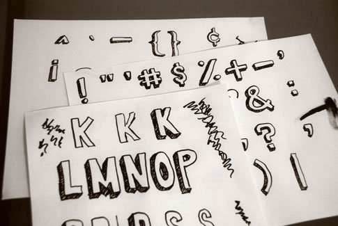 hand-draw-font